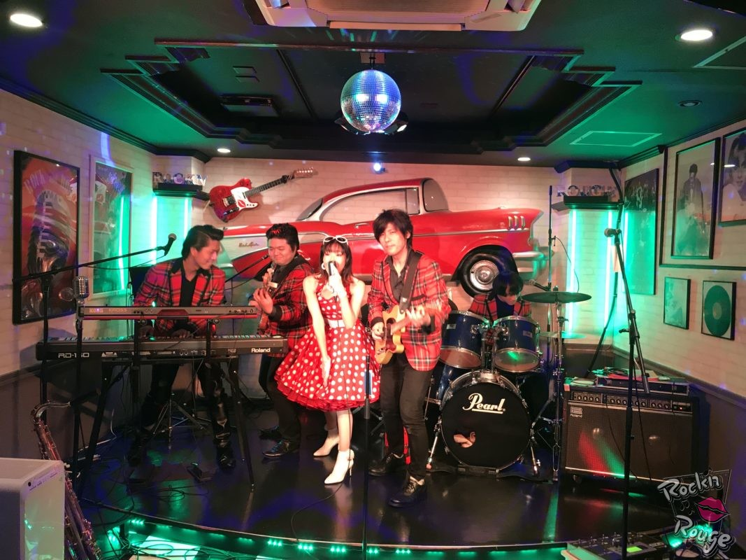 Candy Rougeライブ @ 心斎橋ロックンルージュ